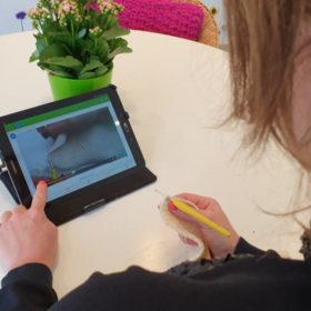 Leren haken met video begeleiding
